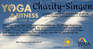Charity-Singen @ Yoga & Fitness