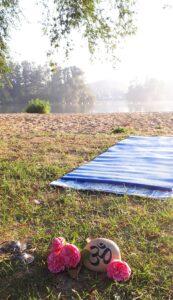 """""""Yoga am Alberssee"""" mit Lisa, Ulrike und den Vayus (So., 16.08./23.08.2020, 09:30-11:00) @ Alberssee Lippstadt"""