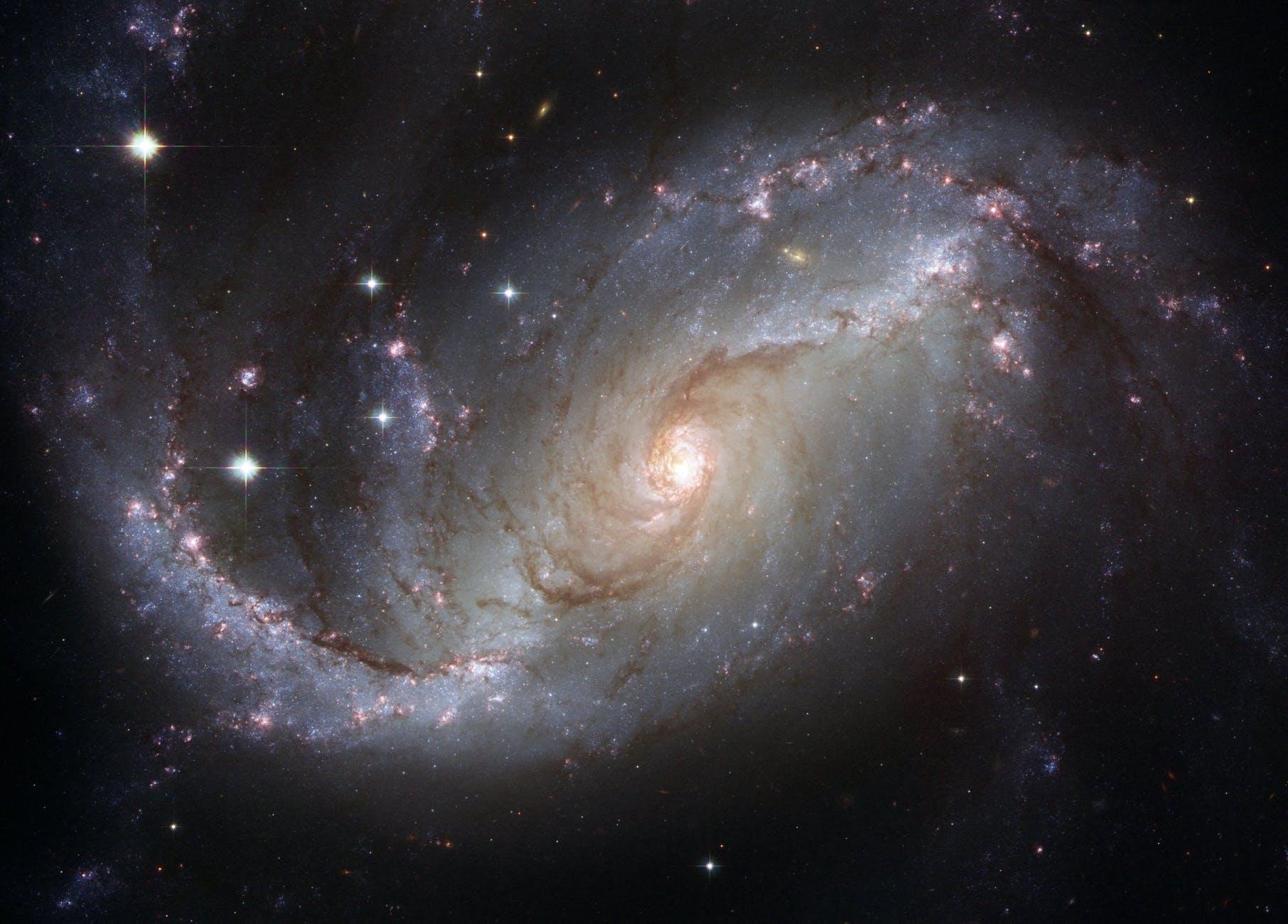 gray and black galaxy wallpaper